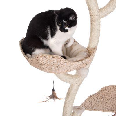 arbre chat de plus de 1 80 m de haut prix avantageux chez zooplus arbre chat cat 39 s. Black Bedroom Furniture Sets. Home Design Ideas