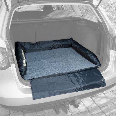 Autobett mit Stoßstangenschutz