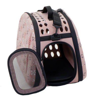 Bolso plegable para mascotas Melly con correa para el hombro