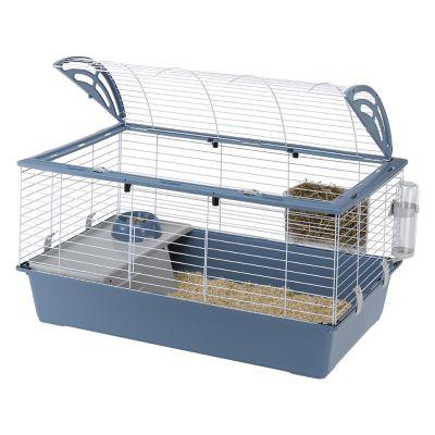 casa 100 cage pour lapin et cochon d 39 inde zooplus. Black Bedroom Furniture Sets. Home Design Ideas