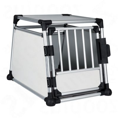 trixie cage de transport en aluminium taille m l pour chien zooplus. Black Bedroom Furniture Sets. Home Design Ideas