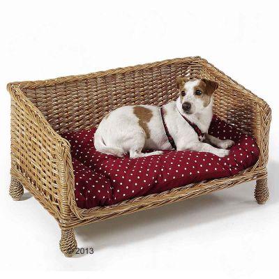 Aum ller en osier canap pour chien zooplus for Canape pour chien
