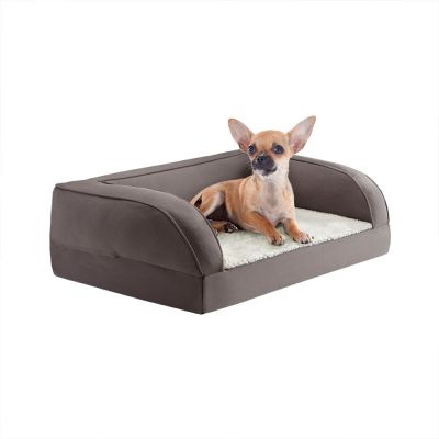 canap orthop dique gris pour chien zooplus. Black Bedroom Furniture Sets. Home Design Ideas