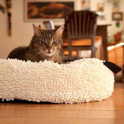 cr me coussin pour chat zooplus. Black Bedroom Furniture Sets. Home Design Ideas