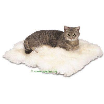trixie coussin en peau de mouton pour chat zooplus. Black Bedroom Furniture Sets. Home Design Ideas