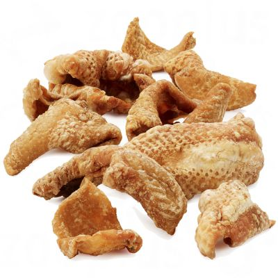 Crujiente piel de pollo Heim