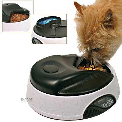 distributeur de nourriture tx4 plus programmable pour chat zooplus