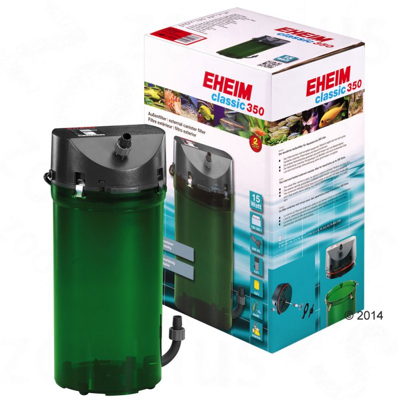 Eheim external filter classic amazing values at zooplus for Tetra pond filter setup