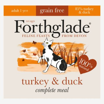Forthglade Complete Meal Grain Free Turkey Amp Duck Adult