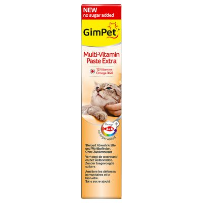 GimCat MULTIwitamina Extra pasta dla kota