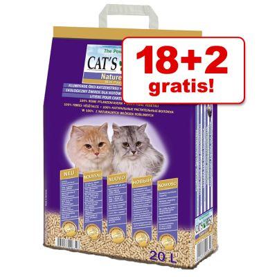 18 2 gratis 20 l cat 39 s best nature gold katzenstreu. Black Bedroom Furniture Sets. Home Design Ideas