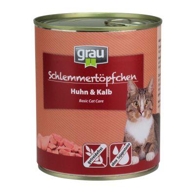 Grau Schlemmertöpfchen getreidefrei 6 x 800 g