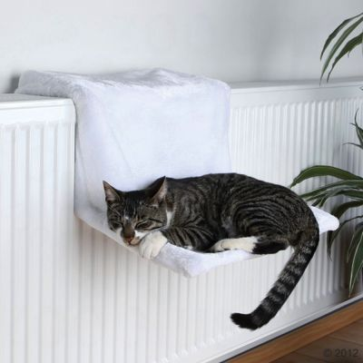 hamac de radiateur pour chat trixie de luxe. Black Bedroom Furniture Sets. Home Design Ideas