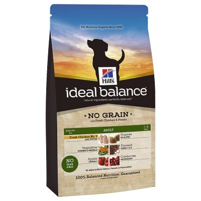 Ideal Balance Dog Food >> Hill's Canine Ideal Balance Adult No grain - Croquettes pour chien - zooplus