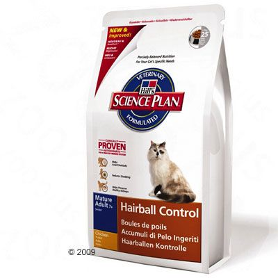 hill 39 s feline hairball control adult 7 croquettes pour chat zooplus. Black Bedroom Furniture Sets. Home Design Ideas