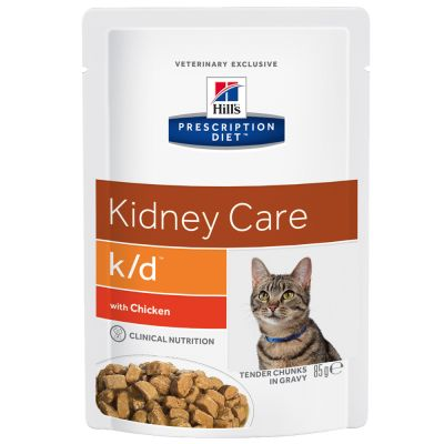 Hill's Prescription Diet Feline k/d - Chicken | Free P&P £29+