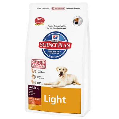 Hill S Science Plan Adult Light Large Breed Chicken