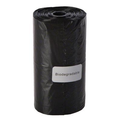 Hundekotbeutel schwarz, biologisch abbaubar