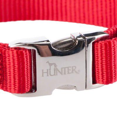 Hunter Halsband Vario Basic Alu-Strong, rot
