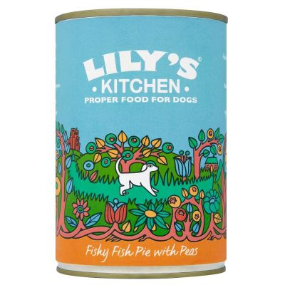Lily s Kitchen Fishy Fish Pie with Peas for dogs Free P&P