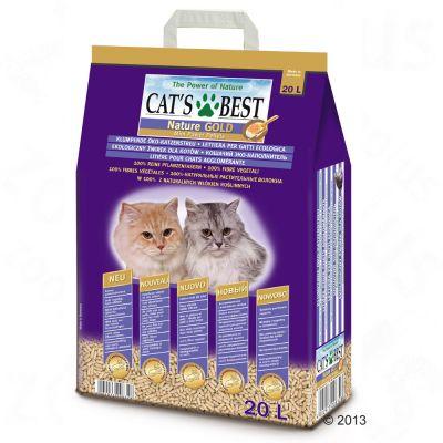 Litière Cat's Best Nature Gold pour chat