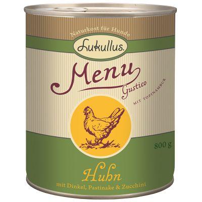 Lukullus MenuGustico Chicken with Spelt, Parsnip & Courgette