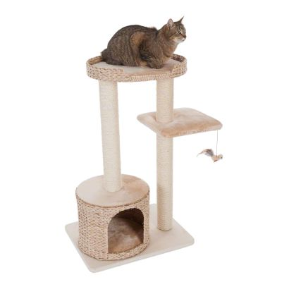 small cat trees natural home ii cat tree free delivery on orders 29 at zooplus. Black Bedroom Furniture Sets. Home Design Ideas