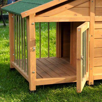 Sylvan special niche pour chien zooplus - Casetas de madera para terraza ...