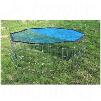 Octagonal Run with Sun Protection - 8 Sided