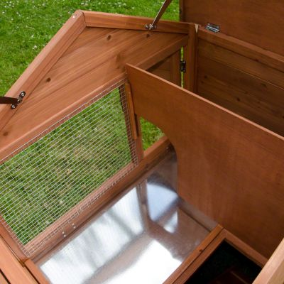 Outback Rabbit Hutch Castle with Run