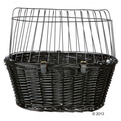 trixie panier pour v lo noir pour petit chien zooplus. Black Bedroom Furniture Sets. Home Design Ideas