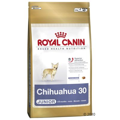 royal canin breed chihuahua junior croquettes pour chiot zooplus. Black Bedroom Furniture Sets. Home Design Ideas