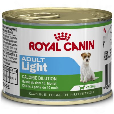royal canin mini light bo 238 tes pour chien zooplus