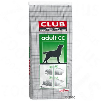 Special club performance adult cc royal canin croquettes - Croquettes royal canin club cc sac de 20kg ...