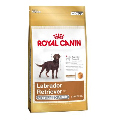 royal canin sterilised labrador retriever adult at zooplus. Black Bedroom Furniture Sets. Home Design Ideas
