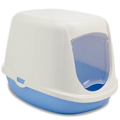 kattentoiletten met klep voor extra hygiene savic katzentoilet duchesse. Black Bedroom Furniture Sets. Home Design Ideas