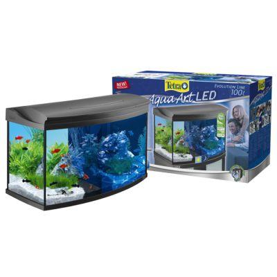 Set acquario tetra aquaart 100 l zooplus for Acquari tetra prezzi