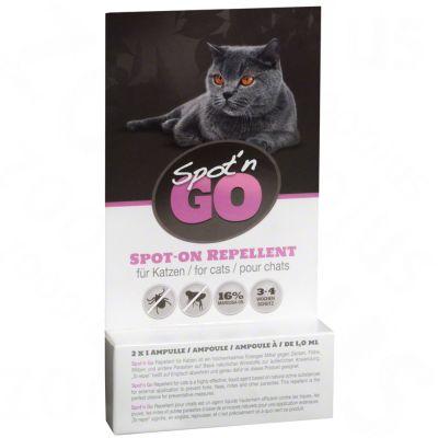 spot 39 n go spot on zeckenschutzmittel f r katzen jetzt g nstig kaufen bei zooplus. Black Bedroom Furniture Sets. Home Design Ideas