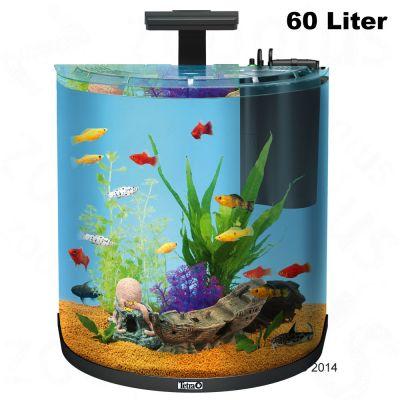 complete aquariumsets voor beginners tetra aquaart explorer line halfmoon aquarium set. Black Bedroom Furniture Sets. Home Design Ideas