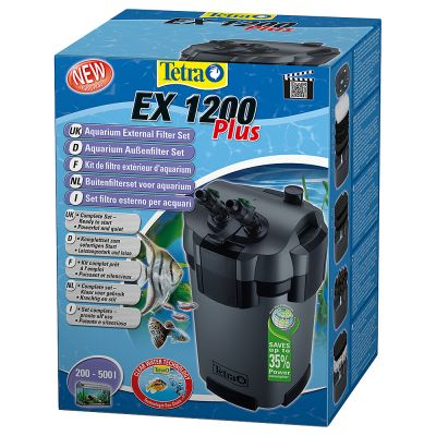 Tetra ex plus filtre ext rieur pour aquarium zooplus for Pompe d aquarium exterieur
