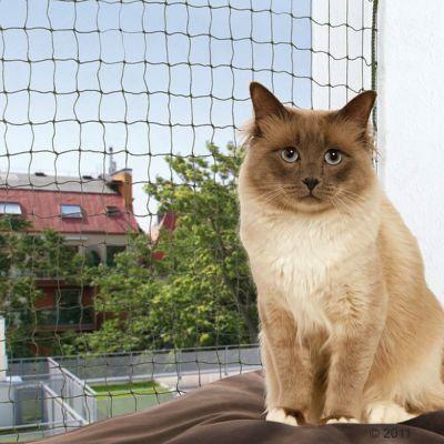 Trixie Katzenschutznetz mit Drahtverstärkung