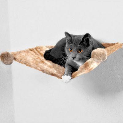 Trixie 39 hangmat van pluche voor aan de muur 39 for Gewei voor aan de muur