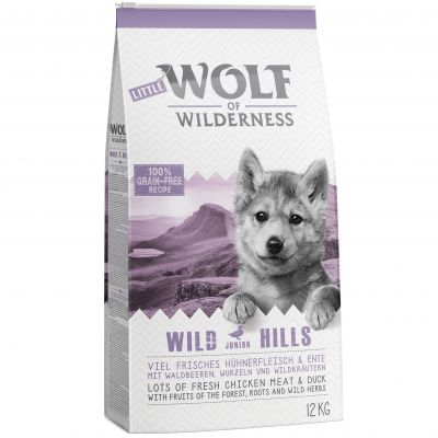 wolf of wilderness junior wild hills croquettes pour chien zooplus. Black Bedroom Furniture Sets. Home Design Ideas