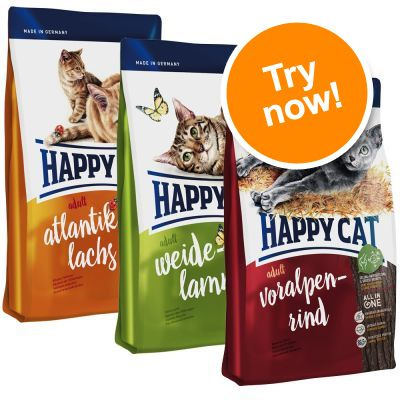 3 x 1.4kg Happy Cat Adult – Mixed Pack | Free P&P on ... - photo#36